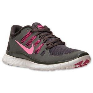 Women's Nike Free Runs 5.0 Running Athletic Shoes